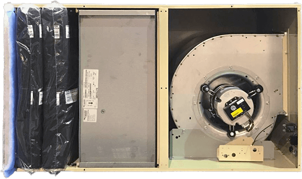 1200HS Plus S Model - Doors removed