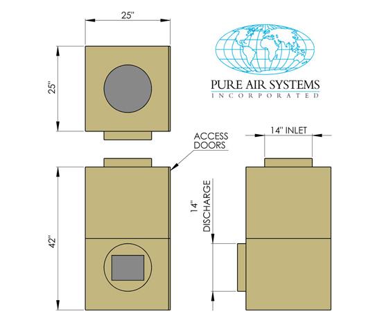 1200HS PLUS L Model Diagram