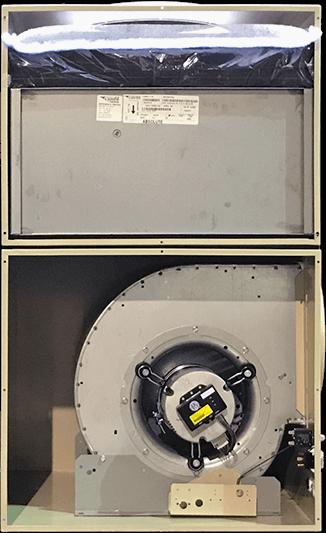 2000HS Plus L Model - Doors Removed